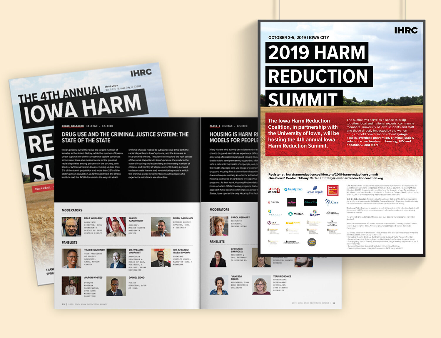Selected 2019 Harm Reduction Summit Collateral